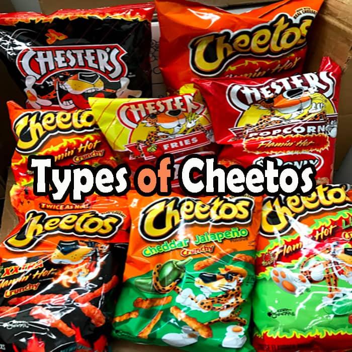 Types of Cheetos
