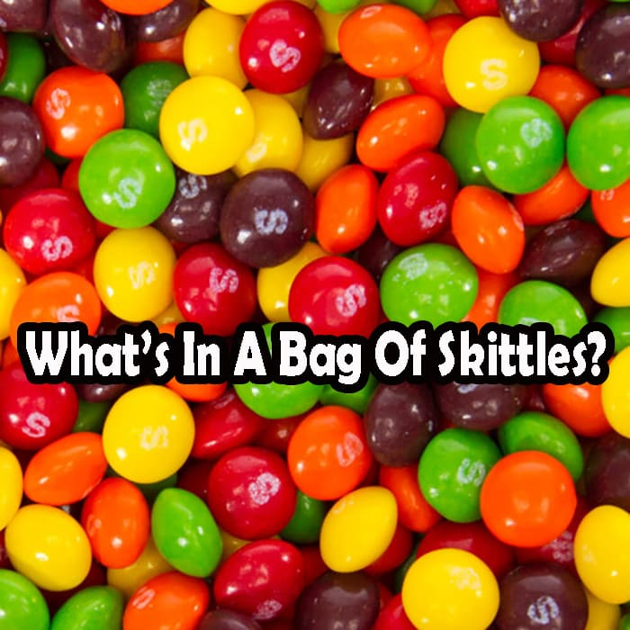What's In A Bag Of Skittles